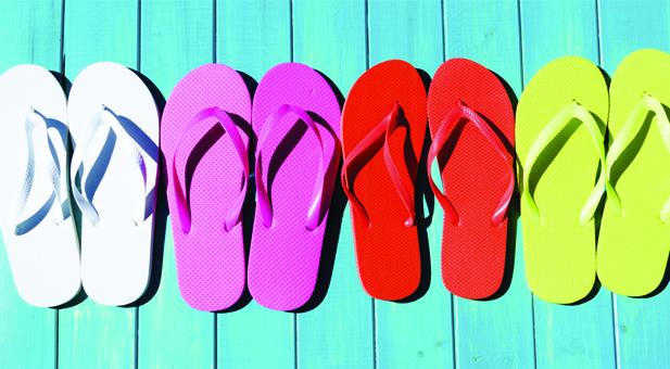 Photo of Flip-Flops Fail Feet